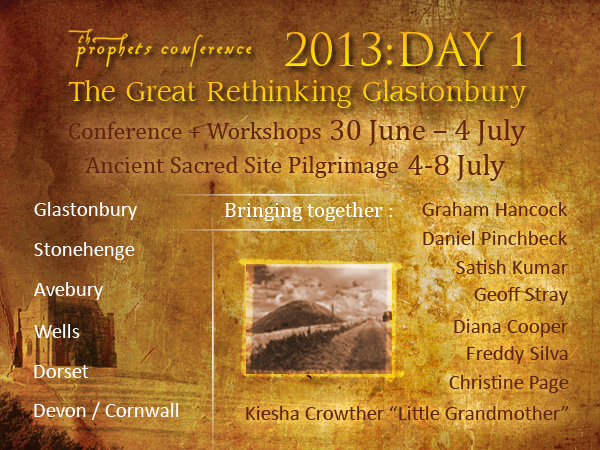 Prophets conference in Glastonbury